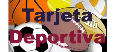 Tarjeta Deportiva