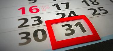 Calendario festivos: horarios de apertura