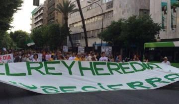 manifestación REY HEREDIA Córdoba