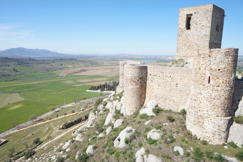 Vista del exterior del Castillo de Belmez 3. ZNIR Sensing Soltions para ©Proyecto ager Mellariensis