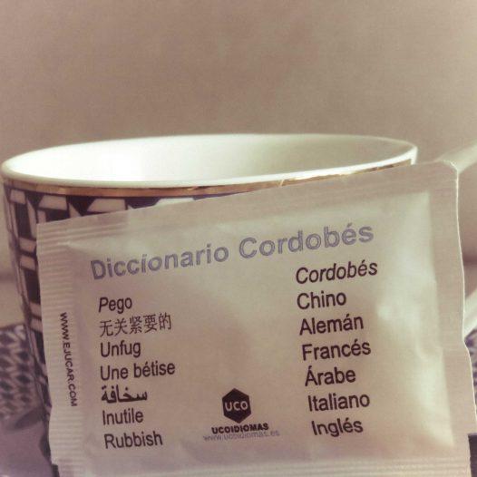 Traducción del diccionario cordobés