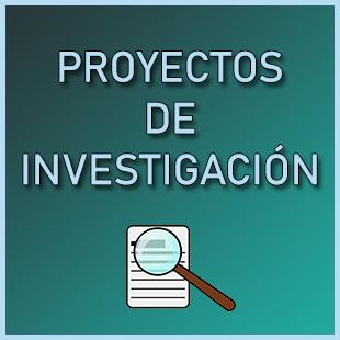 proyectos investigación