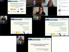 Simposio sobre institucionalización de la atención a la diversidad en la educación superior, celebrado en el marco del WERA Focal Meeting (online, 7 julio 2021)