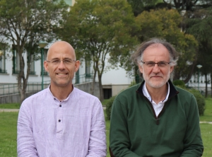 Francisco Javier Bonet and Rafael Navarro, investigators of the TAO project