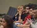 estudiantes y publico