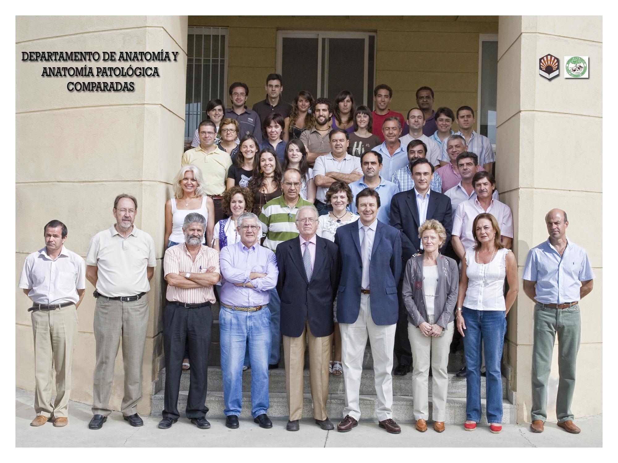 DEPARTAMENTO DE ANATOMÍA Y ANATOMÍA PATOLÓGICA COMPARADAS