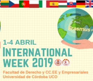 International week en la Facultad de Derecho y Ciencias Económicas y Empresariales