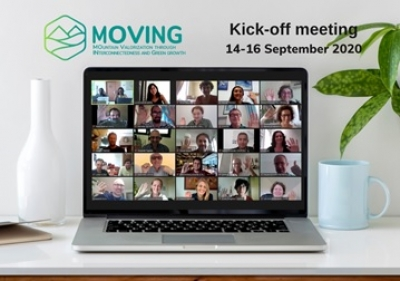 Kick of meeting virtual del proyecto Moving