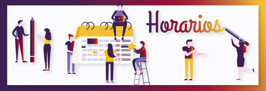 banner horarios web