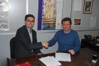 Rabanales 21: La empresa Signlab  firma  un convenio con la Federación de personas sordas de Cataluña
