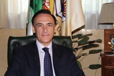 José Carlos Gómez Villamandos, rector de la Universidad de Córdoba
