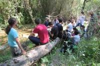 Voluntarios del Proyecto Ambiental Andarríos