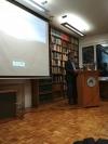 El profesor Antonio Monterroso en su intervención