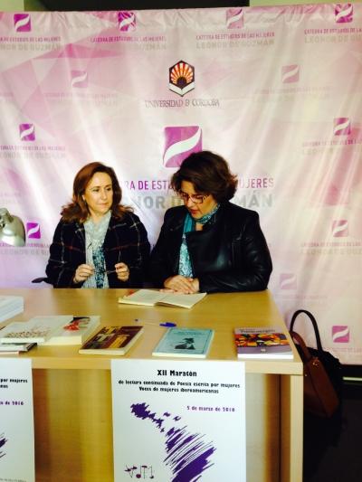 María Rosal y Mª Carmen Balbuena