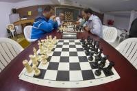 Segunda jornada de la competición de ajedrez
