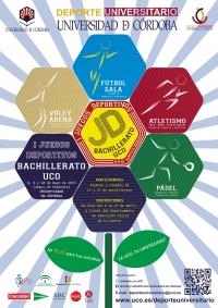 La UCO organizará los I Juegos Deportivos Bachillerato-UCO del 8 al 10 de mayo