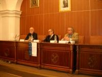 De izq. a dcha: Pedro Ruiz, Jose Manuel Cuenca y Carlos Clementson