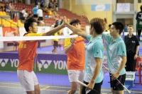 Triple oro de China en los Mundiales Universitarios de Badminton