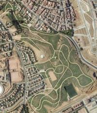 Vista aérea del parque de la Asomadilla