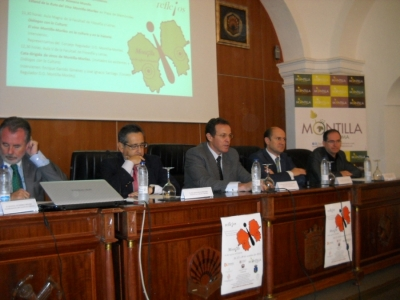 De izq. a dcha. Manuel Gutiérrez, Ricardo Rojas, Eulalio Fernández, Federico Cabello y Miguel Cabezas