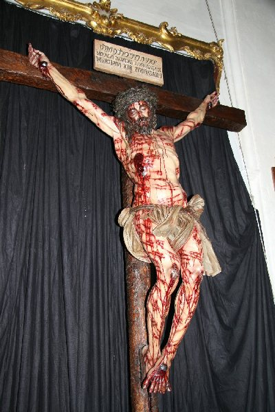 La imagen del Cristo de la Universidad estará abierta a la visita de los cordobeses