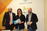 De izquierda a derecha, Manuel Torres, Angels Barceló y Luis Medina, en la presentación del Congreso.