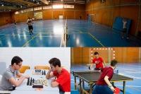 XXXIII Trofeo Rector: celebrados los torneos de promoción de bádminton, tenis de mesa y ajedrez.
