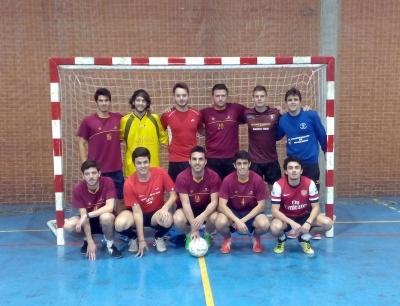 Equipo ganador de fútbol sala