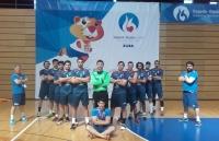 equipo de balonmano masculino en los Juegos Europeos Universitarios Zagreb-Rijeka, del pasado mes de julio
