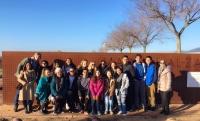 Foto de familia de los estudiantes de la Universidad de California