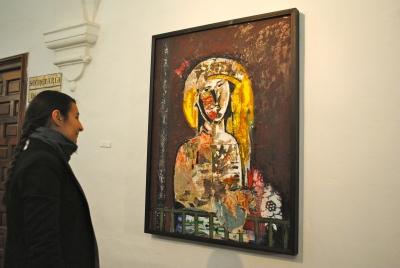 Uno de los cuadros de la exposición