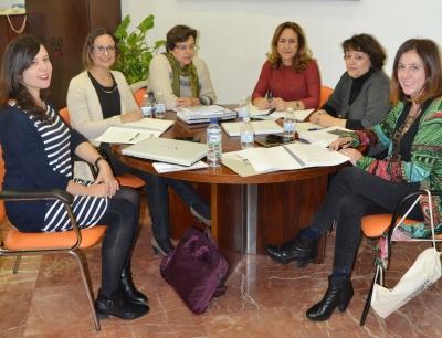 Integrantes del jurado que ha fallado la última edición del Premio Leonor de Guzmán