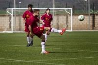 Partido fútbol de la UCO en el CAU de ediciones anteriores