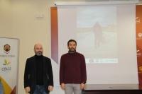 De izquerda a derecha, Luis Medina y Enrique Garcés, en la presentación del balance de la campaña.