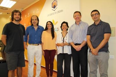 Autoridades en la presentación del curso