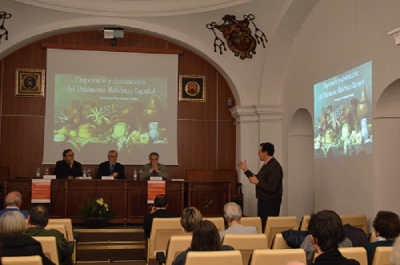 De izquierda a derecha: José María Palencia Cerezo, Fernando Moreno Cuadro, Francisco Fernández Pardo y Eulalio Fernández Sánchez.