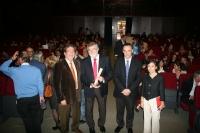 Autoridades en la inauguración del I Congreso Científico de Investigadores en Formación 'Creando redes'