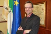 El nuevo decano de la Facultad de Derecho y CC. EE. y EE., Manuel Izquierdo.