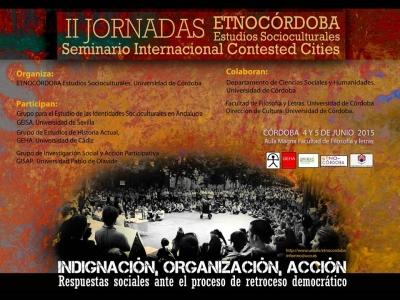 Cartel de las II Jornadas Etnocórdoba