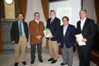 De izq a dcha: Sebastián Carrión, Juan Antonio Devesa, Jose Manuel Roldán, Eugenio Domínguez y Fernando López Mora