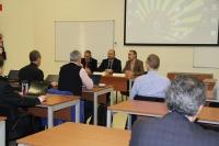Un momento de la sesión inaugural del encuentro celebrado en el Rectorado