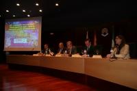 De izq. a dcha, Francisco Javier Martínez, Manuel Torralbo, Jose Manuel Roldán, Jose Carlos Gómez y Blanca Landa