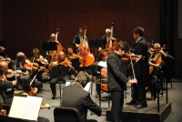 Un momento del concierto de apertura