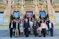 Foto de familia de los participantes en la Erasmus Staff Week