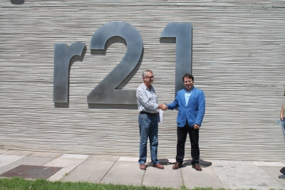 Juan Ramón Cuadros y Álvaro Cuadros