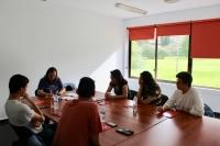 Participantes en el taller celebrado esta mañana