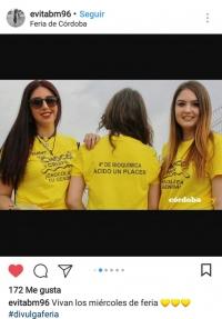Camiseta enviada por el grupo ganador del certamen.
