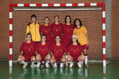 El equipo de  futbol sala femenino se clasificó directamente para semifinales
