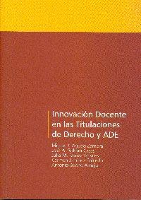 Innovación docente en las titulaciones de Derecho y ADE, nuevo libro del Servicio de Publicaciones de la Universidad de Córdoba