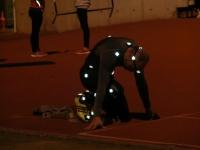 Uno de los atletas durante las pruebas de UCOTRACK